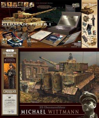 "1:16 German Tiger I Tank #222 ""Wittmann, Assault on Villers-Bocage"""