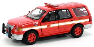 "1:43 Ford Fire Expedition ""Boston Fire Dept."""