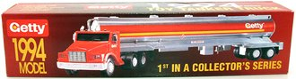 "1994 Tanker Truck ""Getty"" (1st in a Series) (Red/Silver)"