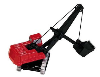 Cable Front Shovel (Red/Black)