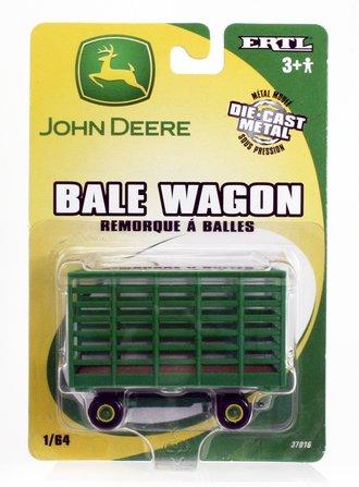 John Deere Bale Wagon (Green)