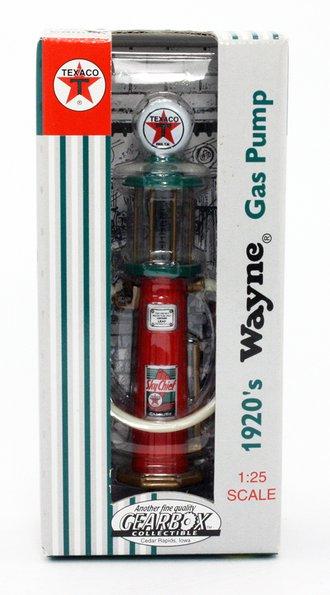"1920's Wayne Gas Pump ""Texaco"" (Red/Green)"