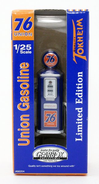 "1950's Tokheim Gas Pump ""Union 76"" (Blue)"