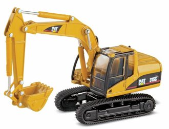 Catepillar 315C L Hydraulic Excavator (Yellow)