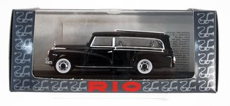 1960 Mercedes Hearse (Black) *** Missing Cross Roof Ornament ***