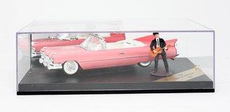 1959 Cadillac Convertible w/Rock Star Figure (Pink)