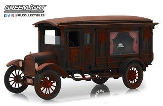 1:18 Precision - 1921 Ford Model T Ornate Carved Hearse (Unrestored Barn Find)
