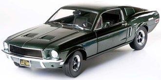 1:18 Bullitt 1968 Ford Mustang GT Fastback (Highland Green)