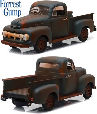 "1:18 1951 Ford F-1 Truck ""Forrest Gump"""