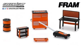 "1:64 GL Muscle Shop Tools ""FRAM Oil Filters"""