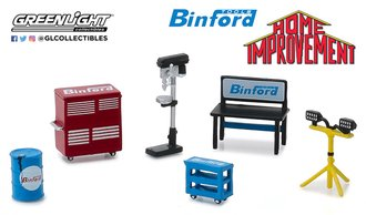 1:64 Home Improvement (1991-99 TV Series) Binford Tools Shop Tools
