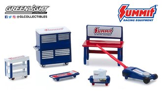 "1:64 GL Muscle Shop Tools ""Summit Racing Equipment"""
