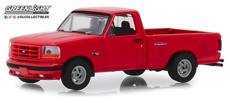 1:64 GreenLight Muscle Series 22 - 1993 Ford F-150 Lightning (Bright Red)