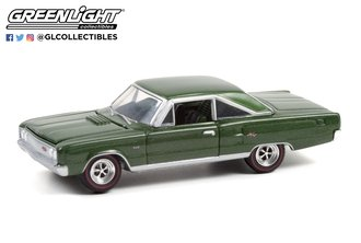 1:64 GreenLight Muscle Series 25 - 1967 Dodge Coronet R/T Hemi (Dark Green Poly)