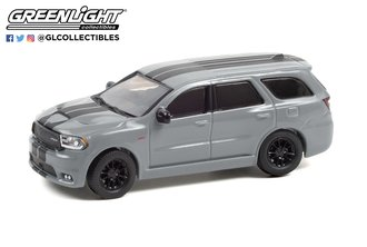 1:64 GreenLight Muscle Series 25 - 2019 Dodge Durango SRT - Destroyer Gray with Black Stripes
