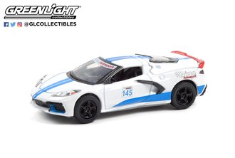 1:64 GreenLight Muscle Series 25 - 2020 Chevrolet Corvette C8 Stingray Coupe - #145 Track Battle