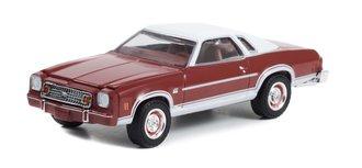 1:64 GreenLight Muscle Series 27 - 1974 Chevrolet Chevelle Laguna S3 (Medium Red Metallic)