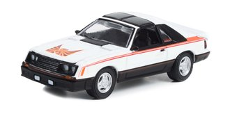 1:64 GreenLight Muscle Series 27 - 1981 Ford Mustang Cobra (Polar White)