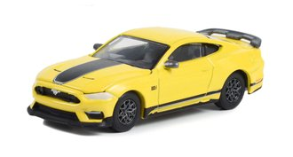 1:64 GreenLight Muscle Series 27 - 2021 Ford Mustang Mach 1 (Grabber Yellow)