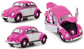1:18 1967 Volkswagen Beetle Right-Hand Drive (Pink/White)