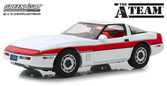 1:18 The A-Team (1983-87 TV Series) - 1984 Chevrolet Corvette C4