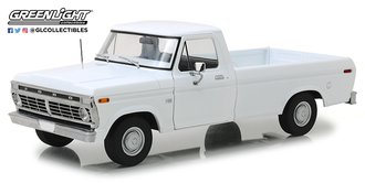 """1:18 1973 Ford F-100 Pickup """"Uncle Jesse"""" (White)"""