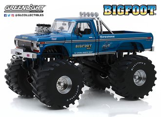 1:18 Kings of Crunch - Bigfoot #1 - 1974 Ford F-250 Monster Truck w/66-Inch Tires