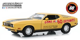 "1:18 Gone in 60 Seconds (1974) 1973 Ford Mustang Mach 1 ""Eleanor"" (Post-Filming Tribute Edition)"