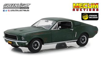 1:18 Mecum Auctions Collector Cars - Unrestored Bullitt 1968 Ford Mustang GT Fastback - Kissimmee 20
