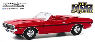 1:18 The Mod Squad (1968-73 TV Series) - 1970 Dodge Challenger R/T Convertible (Rallye Red)