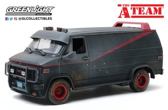 1:18 The A-Team (1983-87 TV Series) - 1983 GMC Vandura (Weathered Version w/Bullet Holes)