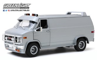 1:18 1983 GMC Vandura Custom (Silver Metallic)
