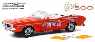 "1:18 1971 Dodge Challenger Convertible ""55th Indianapolis 500 Mile Race Dodge Official Pace Car"""