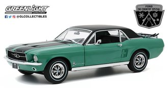 "1:18 1967 Ford Mustang Coupe ""Ski Country Special"" (Loveland Green)"