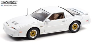 1:18 1989 Pontiac Turbo Trans Am (TTA) Hardtop (White w/Tan Leather Trim Interior)