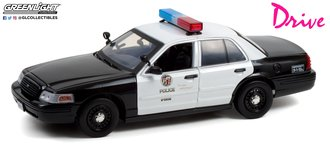 1:18 Drive (2011) - 2001 Ford CV Police Interceptor - Los Angeles Police Department (LAPD)
