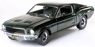1:18 1968 Ford Mustang GT Fastback - Highland Green