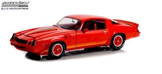 1:18 1981 Chevrolet Camaro Z/28 (Red w/Orange Tri Color Z28 Stripes)