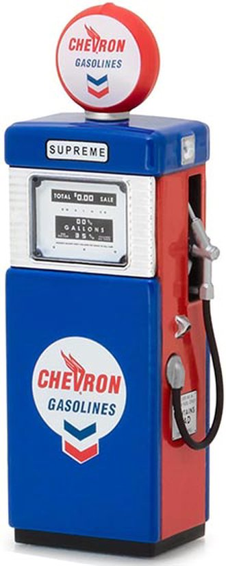 "1:18 Vintage Gas Pumps Series 2 - 1951 Wayne 505 ""Chevron Supreme"""