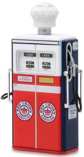 """1:18 Vintage Gas Pumps Series 3 - 1954 Tokheim 350 Twin Gas Pump """"Red Crown Gasoline"""""""