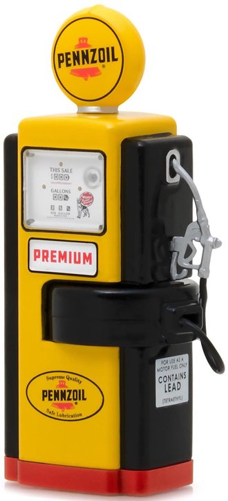 "1:18 1948 Wayne 100-A Gas Pump Pennzoil ""Supreme Quality Safe Lubrication"""