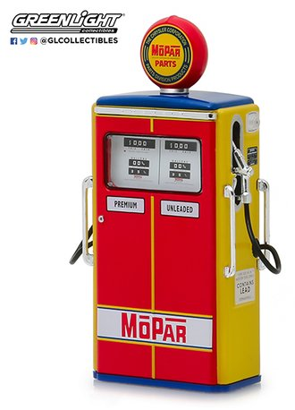 "1:18 1954 Tokheim 350 Twin Gas Pump MOPAR Parts ""The Chrysler Corporatio Parts Division Products"""