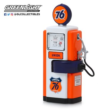 "1:18 Vintage Gas Pumps Series 7 - 1948 Wayne 100-A Gas Pump ""Union 76 Gasoline"""