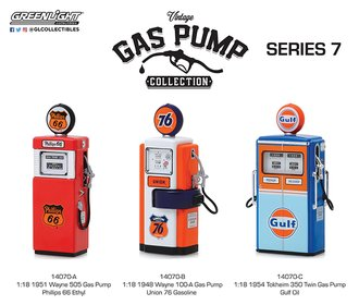 1:18 Vintage Gas Pumps Series 7 (Set of 3)