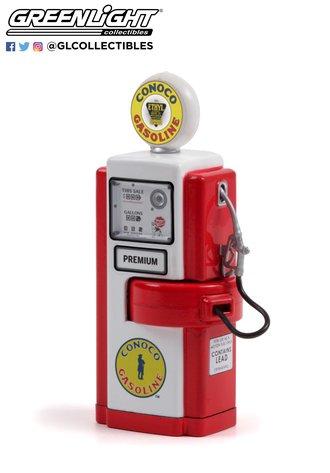 1:18 Vintage Gas Pumps Series 10 - 1948 Wayne 100-A Gas Pump Conoco Ethyl Gasoline