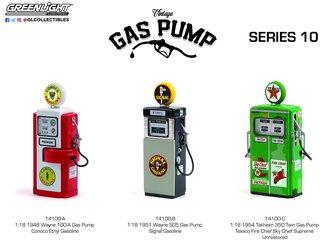 1:18 Vintage Gas Pumps Series 10 (Set of 3)
