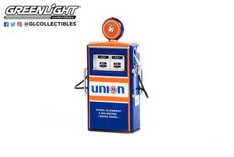 "1:18 Vintage Gas Pumps Series 11 1954 Tokheim 350 Twin Gas Pump ""Union 76 Minute Man Service"""