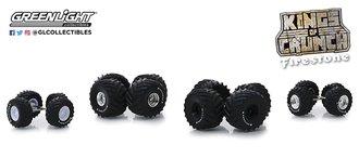 "1:64 Auto Body Shop - Wheel & Tire Packs Series 1 - Kings of Crunch ""Firestone"""