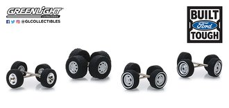 "1:64 Auto Body Shop - Wheel & Tire Packs Series 1 ""Ford Trucks"""