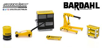 "1:64 Auto Body Shop - Shop Tool Accessories Series 1 - ""Bardahl"""